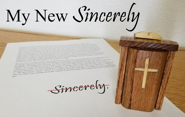 The Wandering Pulpit – My New Sincerely