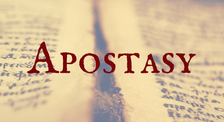 Instruction on Apostasy – 1 Timothy 4:1-5